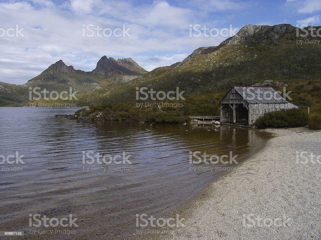 Cradle Mountain, Tasmania royalty-free stock photo