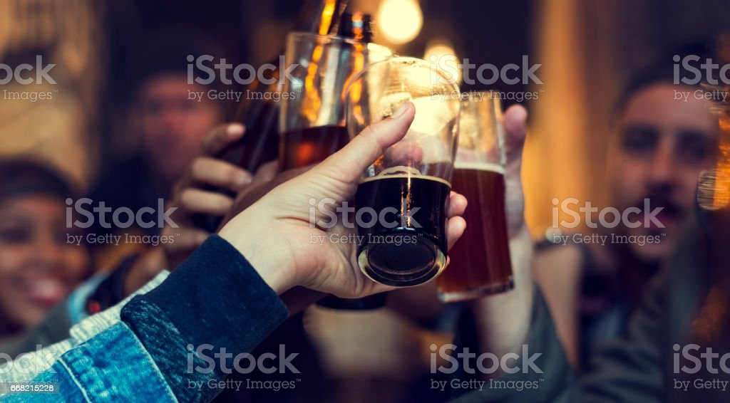 Craft Beer Booze Brew Alcohol Celebrate Refreshment stock photo