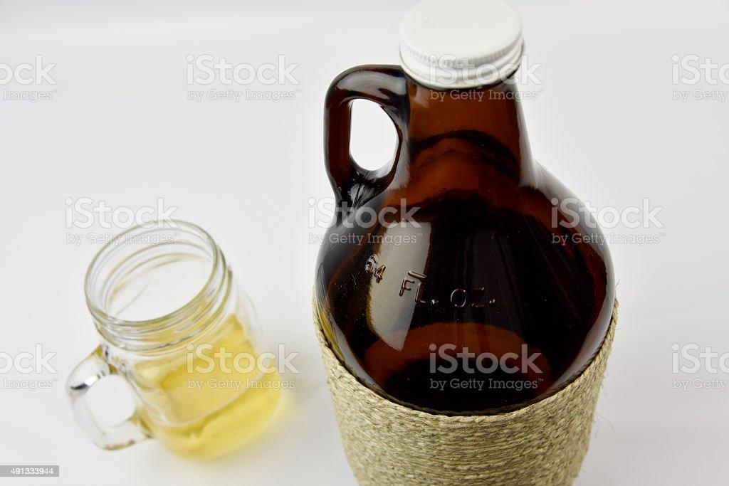 Craft Beer Growler stock photo