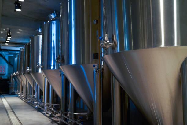 在私人啤酒廠生產手工啤酒, 特寫圖像檔
