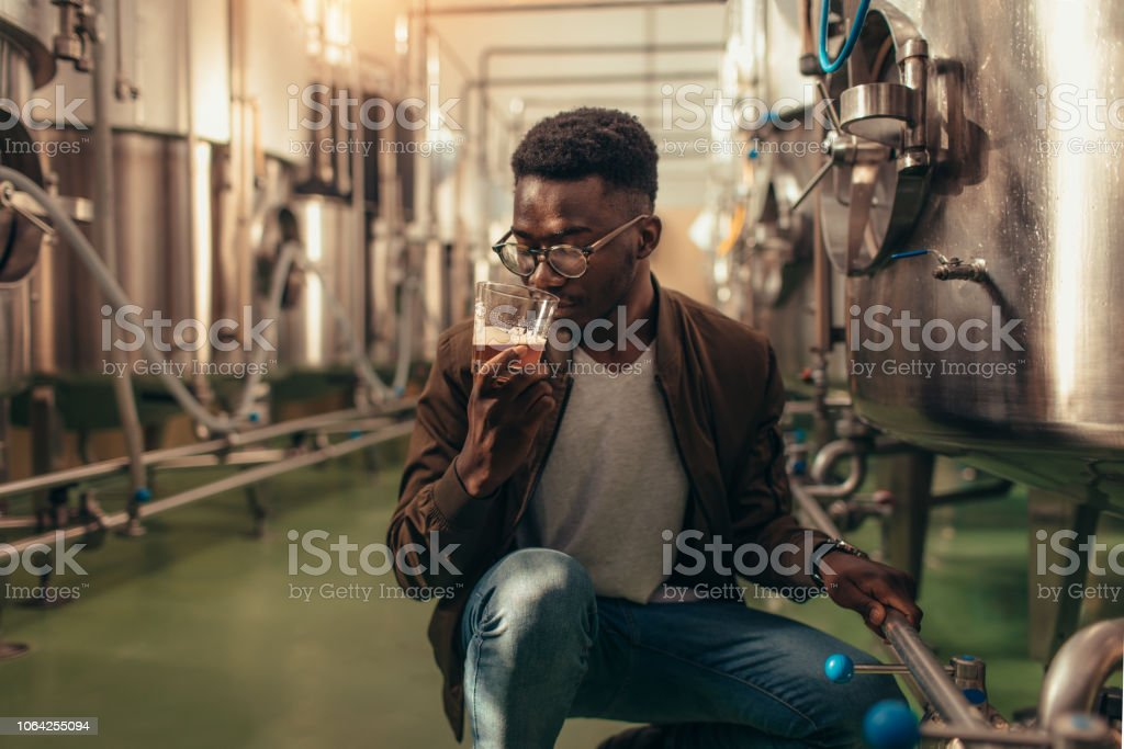 Craft Brewery stock photo