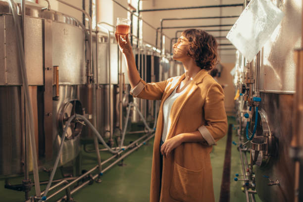 craft brewery - brewery stock pictures, royalty-free photos & images