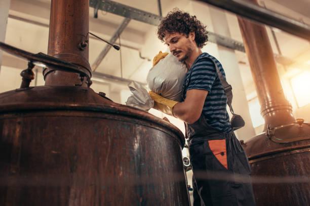 Craft Brewery stock photo