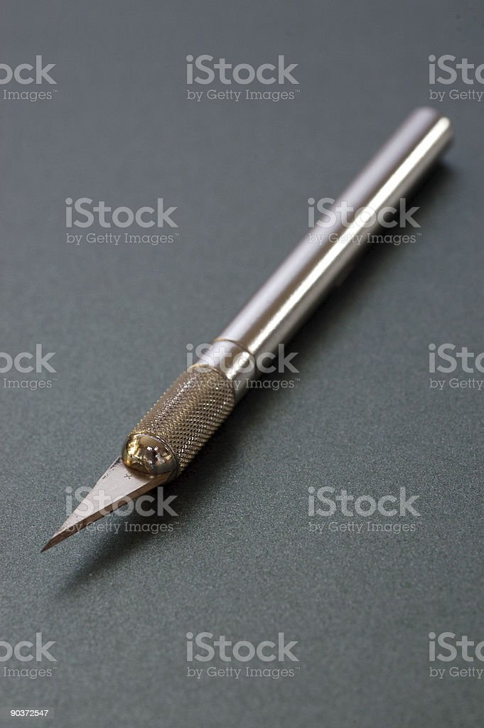 Craft knife stock photo
