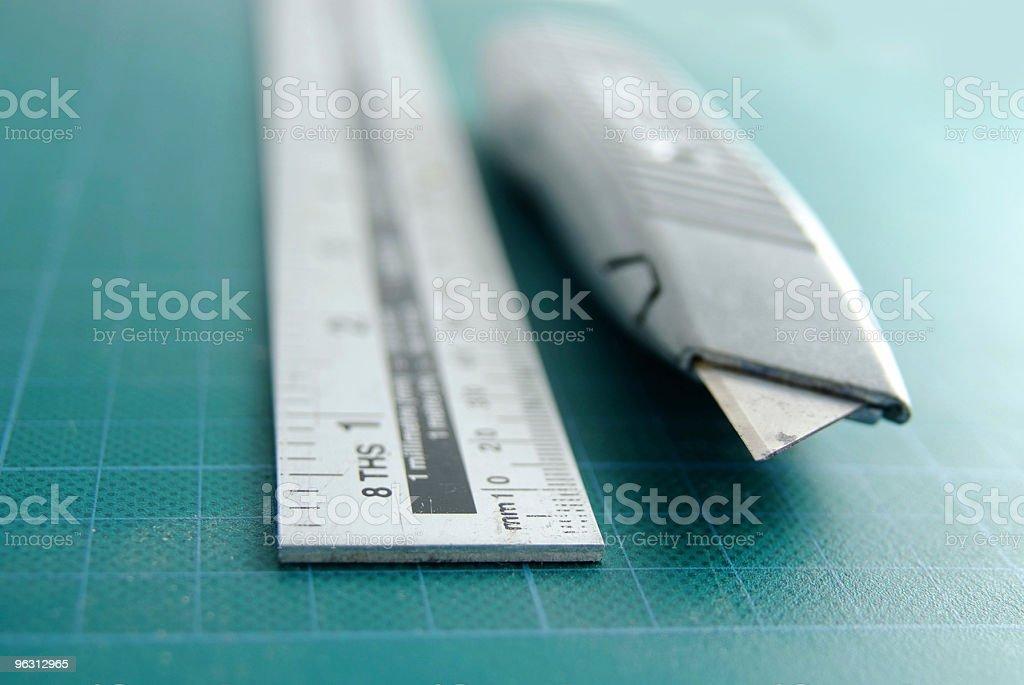 Craft Knife - Royaltyfri Arbetsverktyg Bildbanksbilder