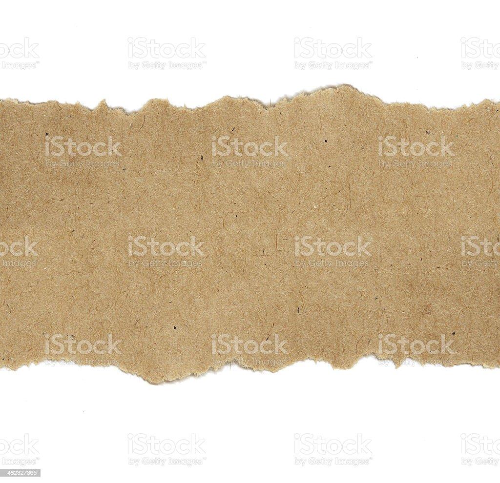 Craft paper background stock photo