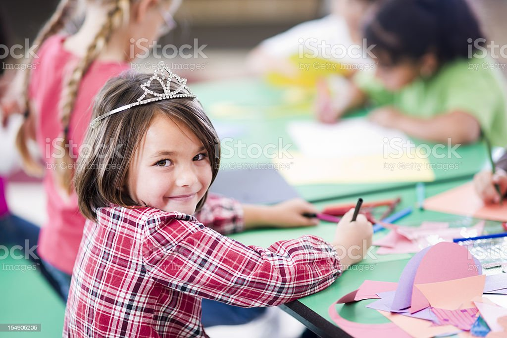 Craft Project royalty-free stock photo