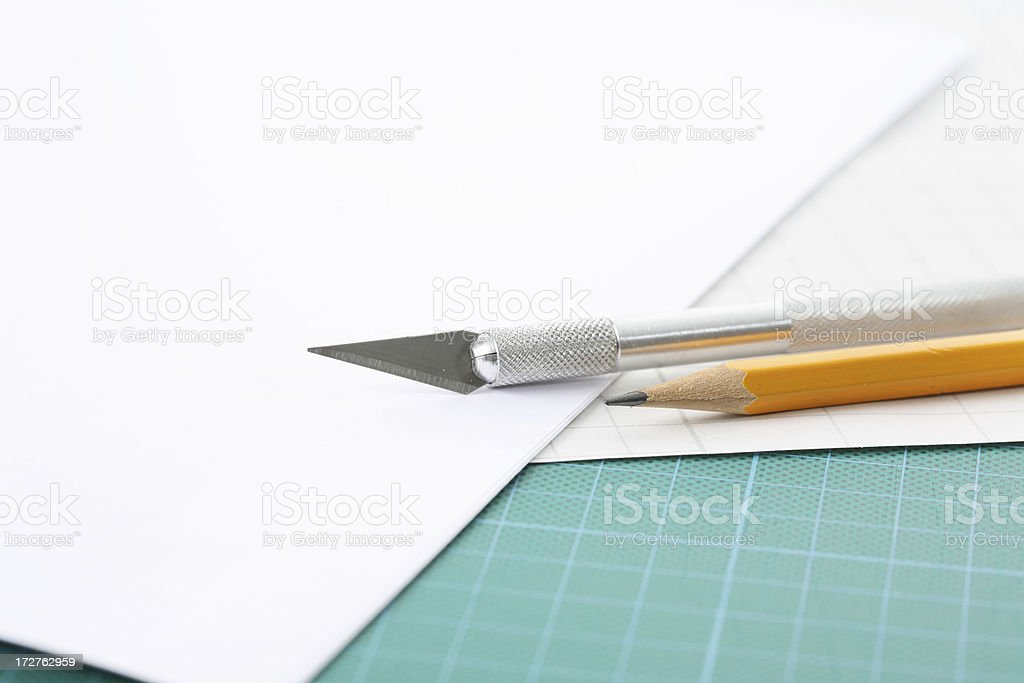 craft tools stock photo