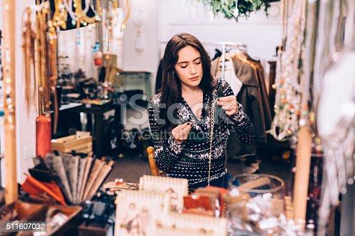 512345816istockphoto Crafting jewelry 511607032