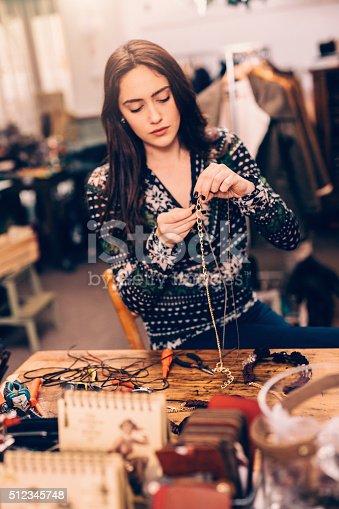 512345816istockphoto Crafting jewelry 512345748