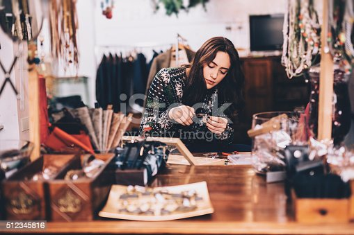 istock Crafting jewelry 512345816