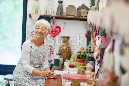 istock Crafting up a good time 511680366