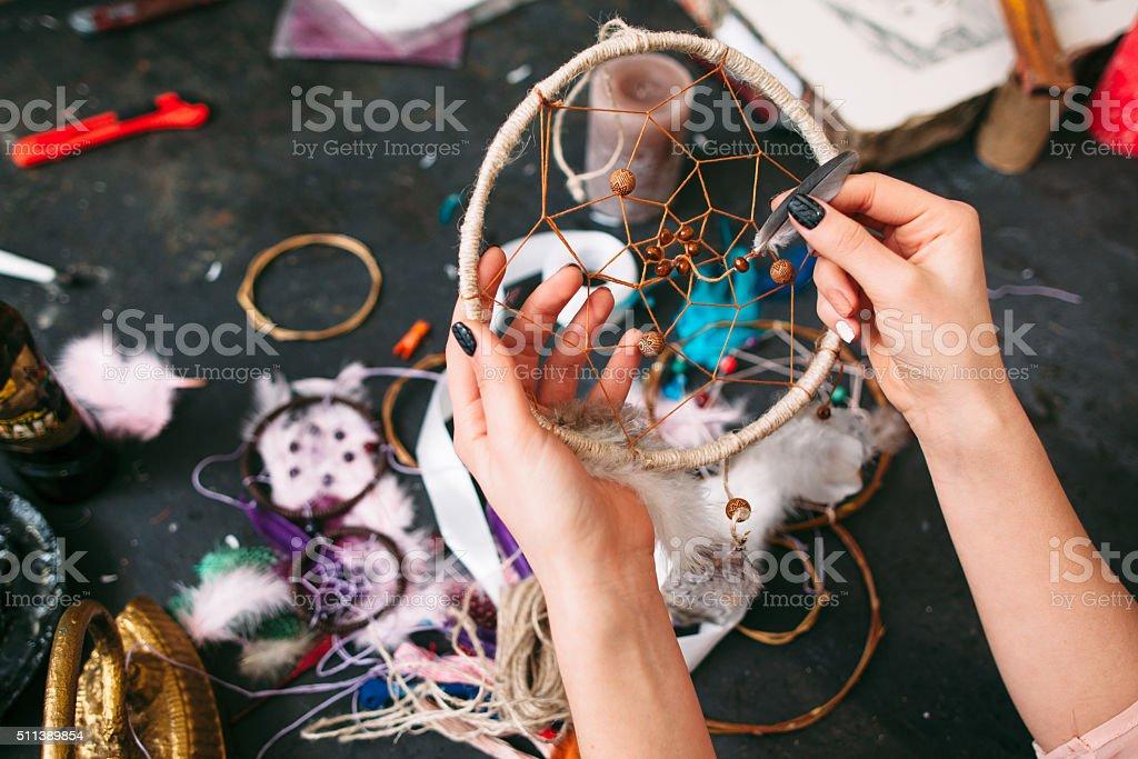 craftman spectacles porte-bonheur indien. - Photo
