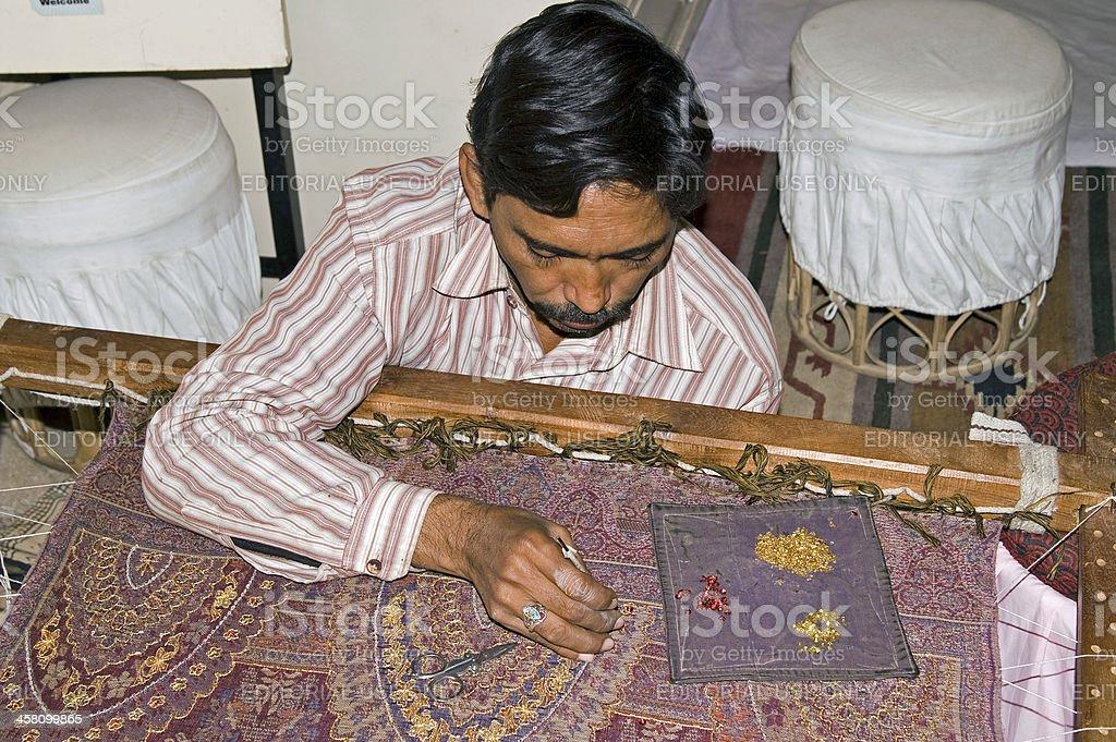 Craftsman at work royalty-free stock photo