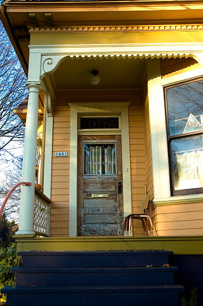 Craftsman House stock photo
