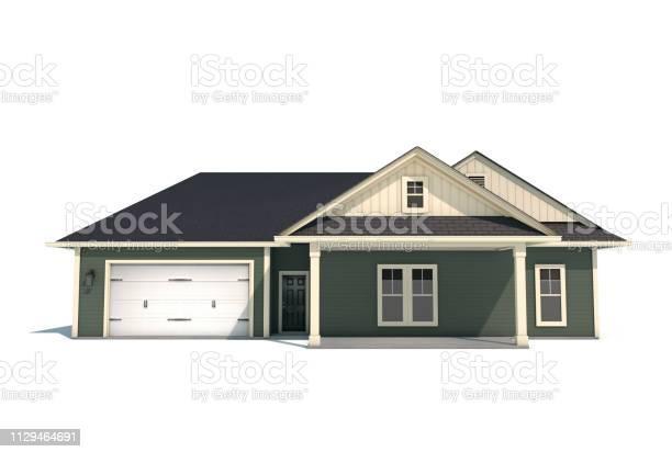 Craftsman style house on white background picture id1129464691?b=1&k=6&m=1129464691&s=612x612&h=urizgt0aft8 4qjd eyn6q qv8ir7nubqmb jntcvh0=