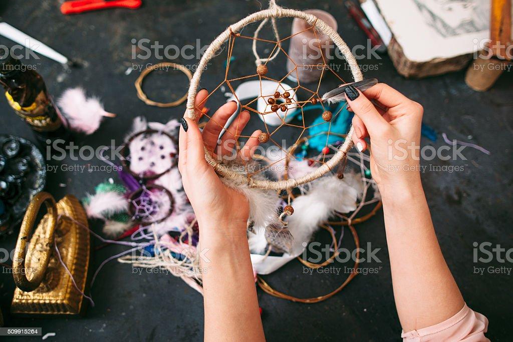 Artisane spectacles porte-bonheur indien. - Photo