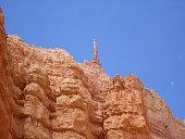 A crag in Bryce Canyon National Park, USA