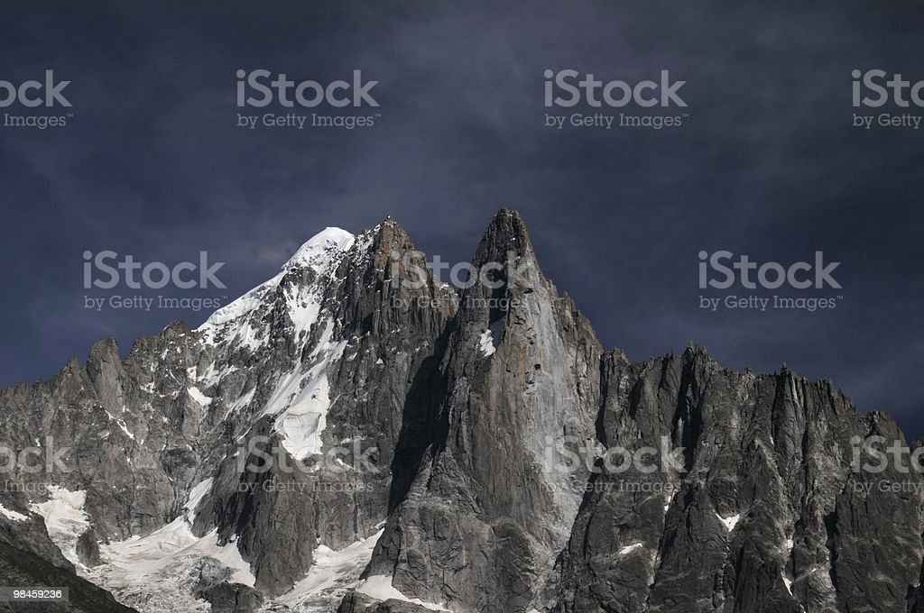 Crag royalty-free stock photo