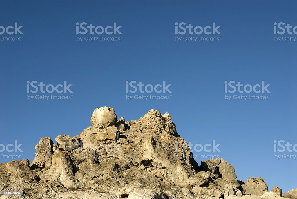 Craggy Blue royalty-free stock photo