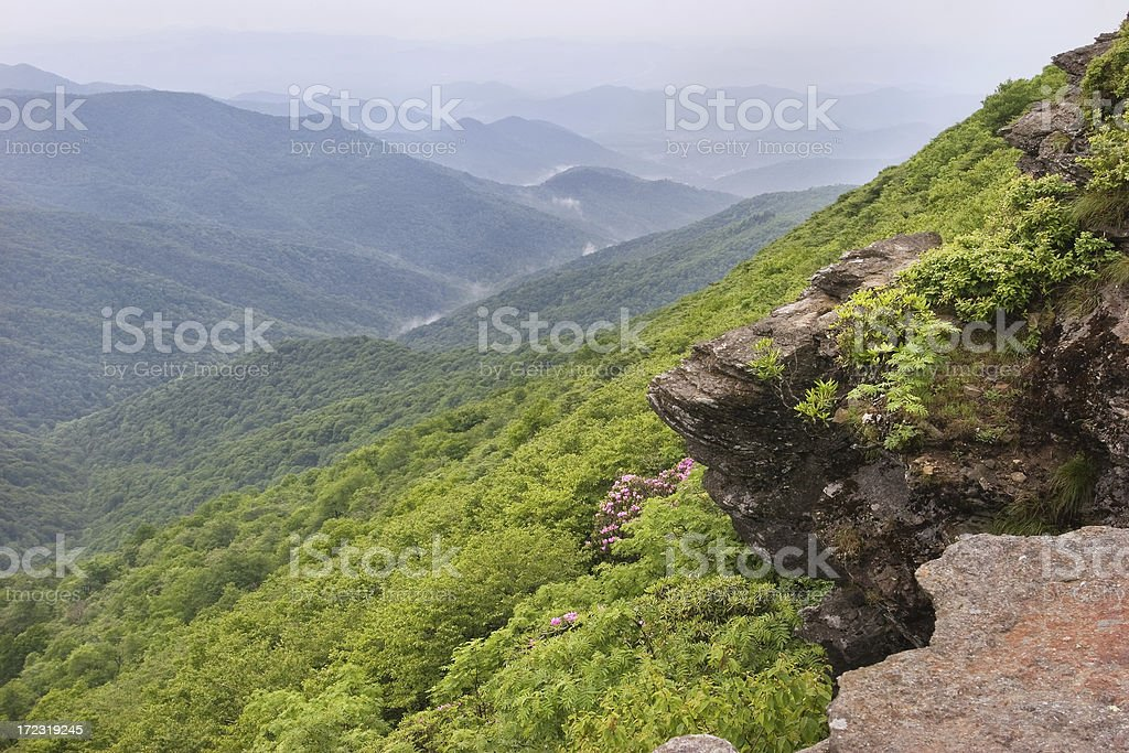 Craggy Overlook royalty-free stock photo