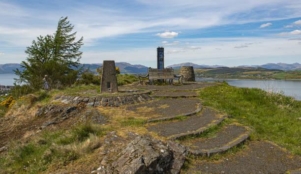 Craig top lyle hill stock photo