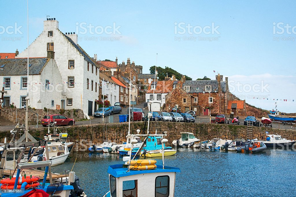 Crail - Cathair Aile stock photo