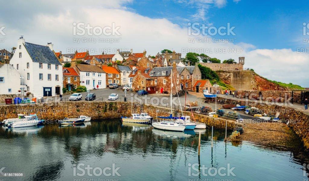 Crail Fishing Village Fife Scotland Stock Photo - Download Image Now