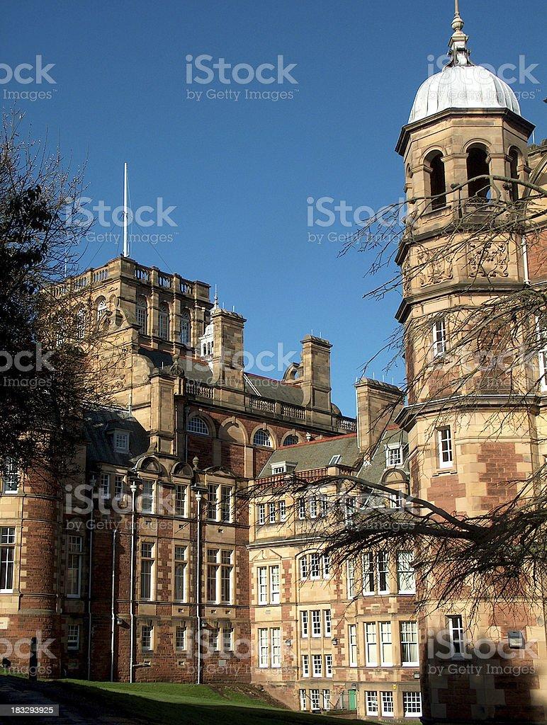 Craisgmiller Castle stock photo