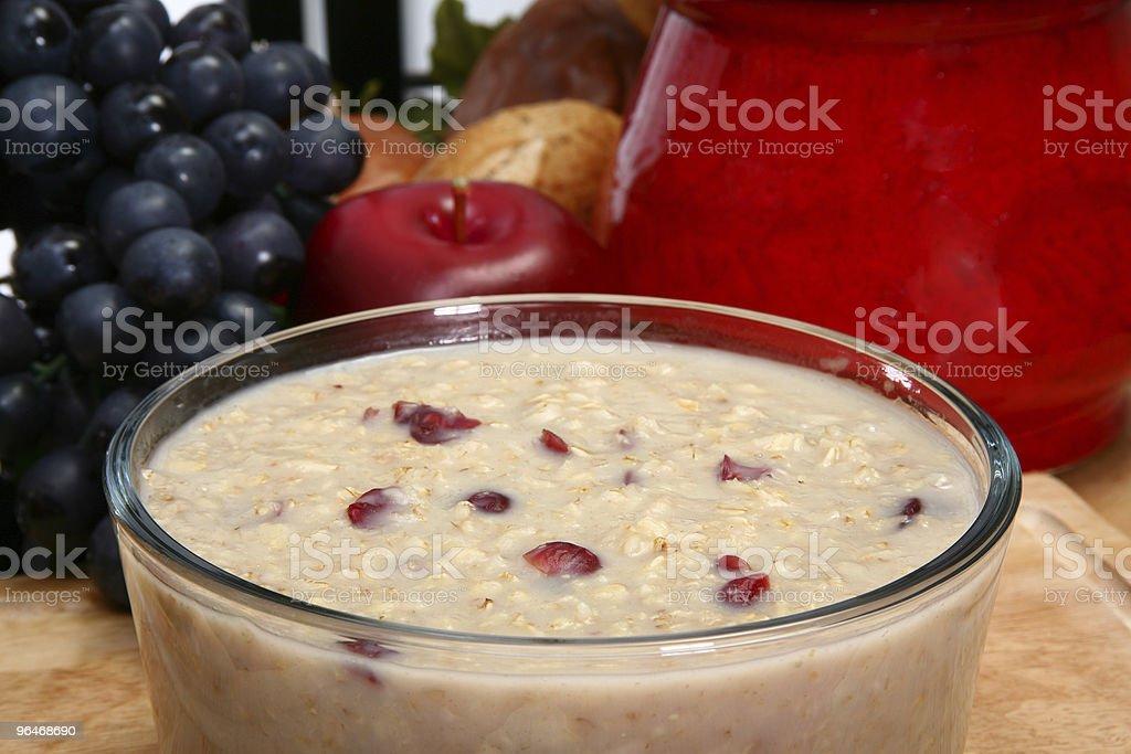 Craisin Oatmeal royalty-free stock photo