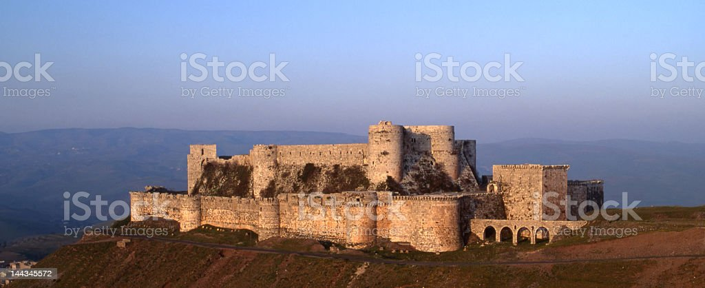 Crak des Chevaliers stock photo