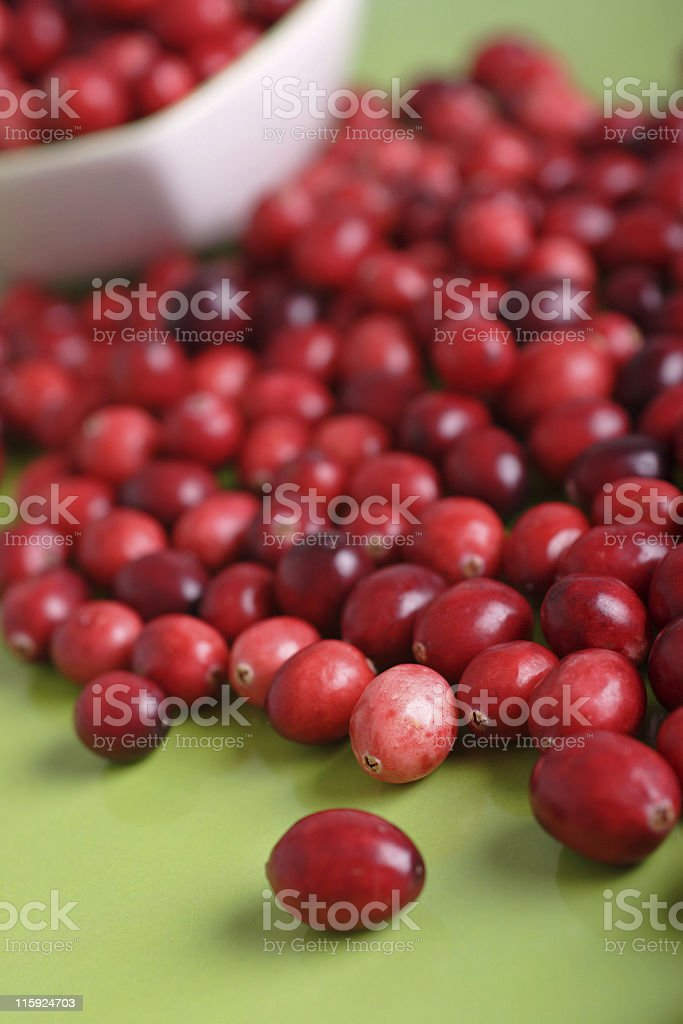 cranberries royalty-free stock photo