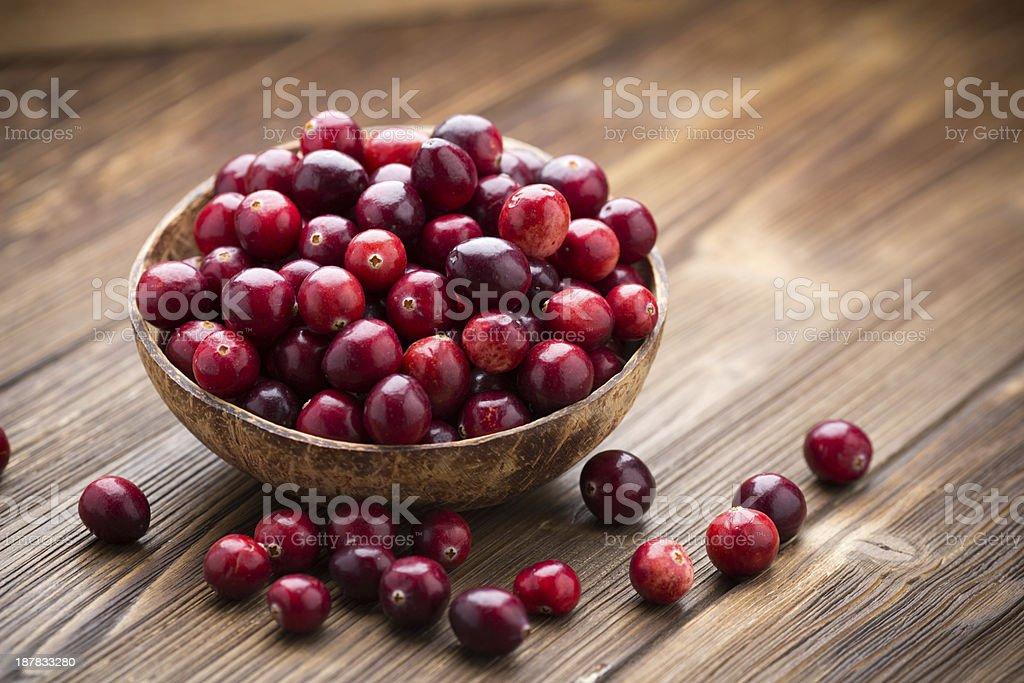 Cranberries. stock photo