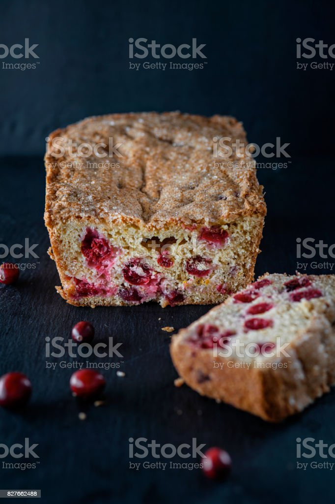 Cranberry Bread stock photo