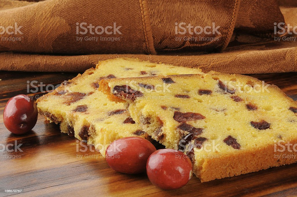 Cranberry cake royalty-free stock photo