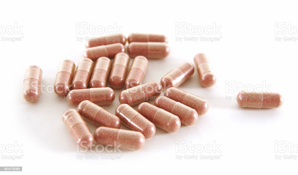 Cranberry Capsules royalty-free stock photo