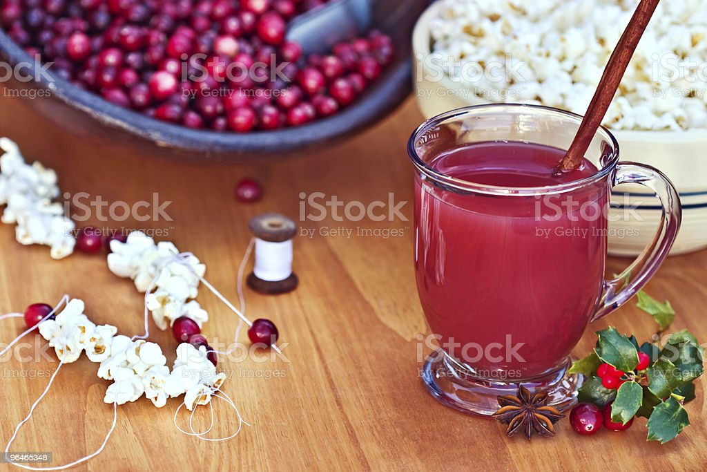 Cranberry drink royalty-free stock photo