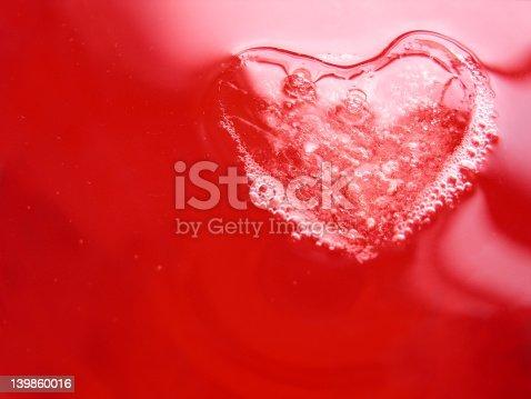 istock Cranberry Heart Series: 1 139860016