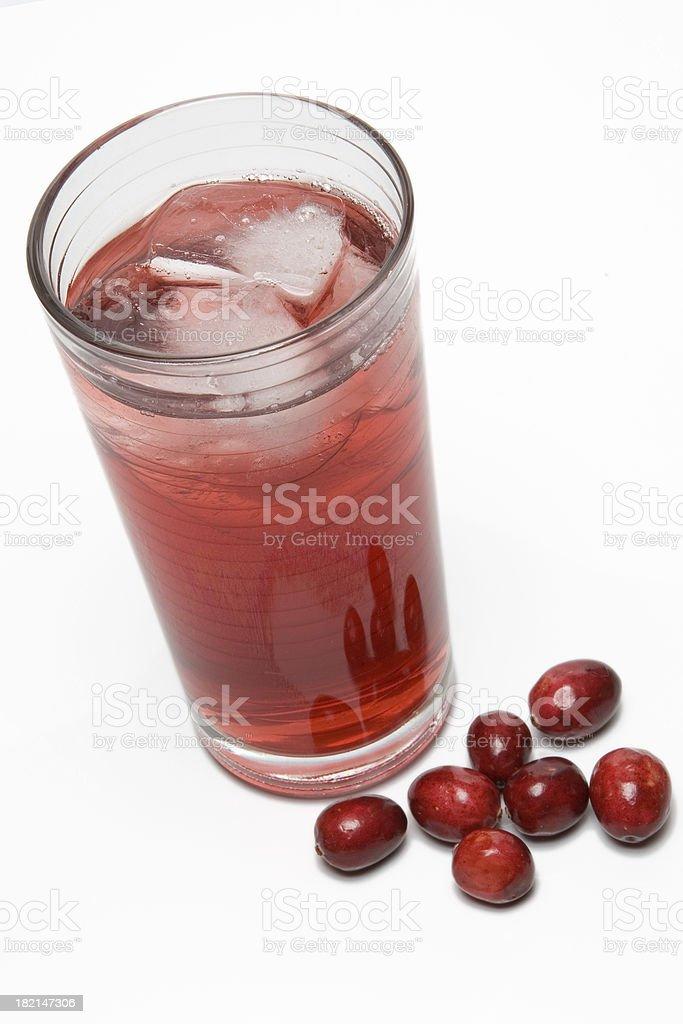 Cranberry Juice royalty-free stock photo