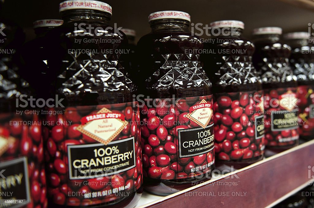 Cranberry Juice stock photo