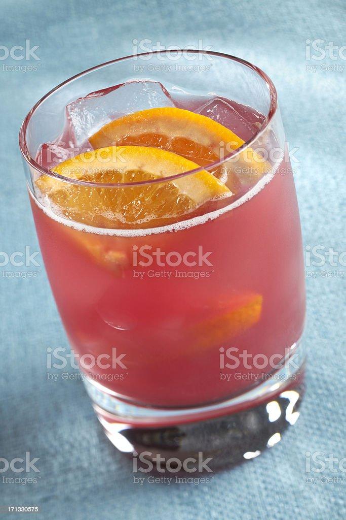 Cranberry Lemonade Spritzer stock photo