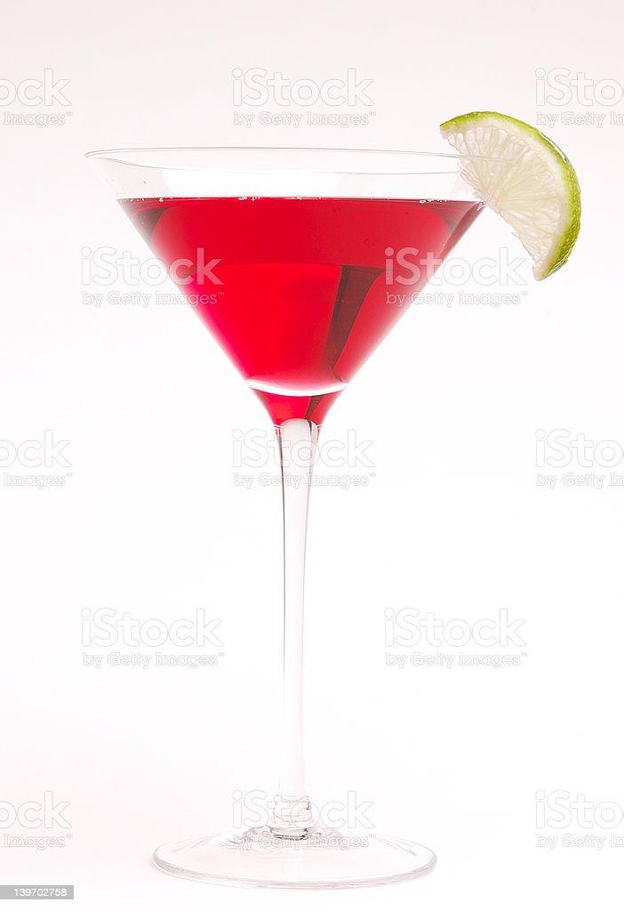 Cranberry Martini royalty-free stock photo