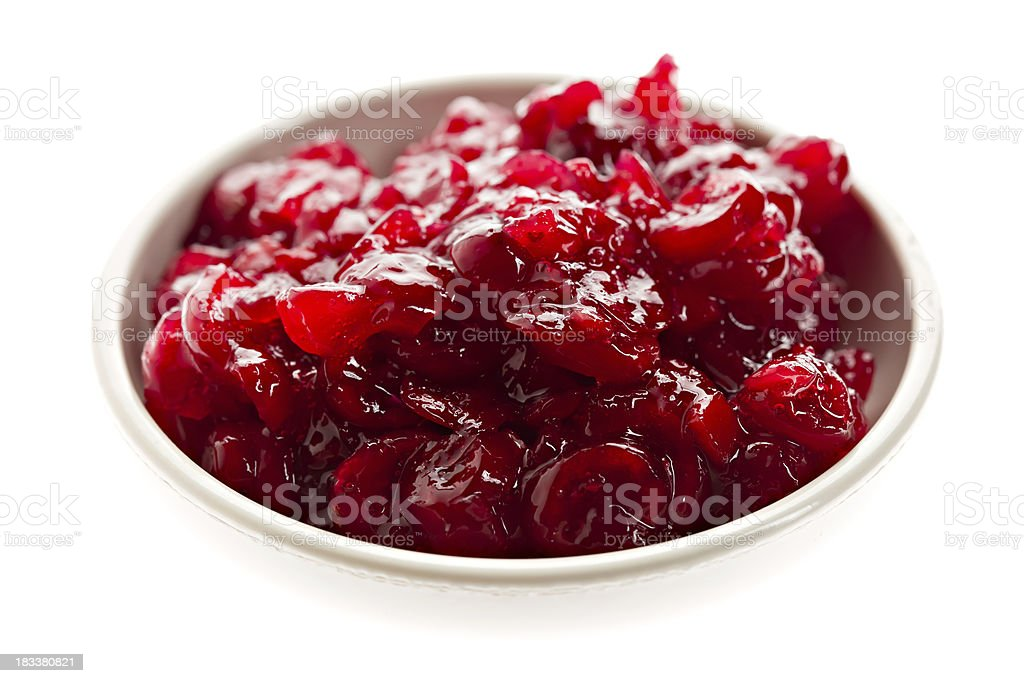 Cranberry Relish stock photo