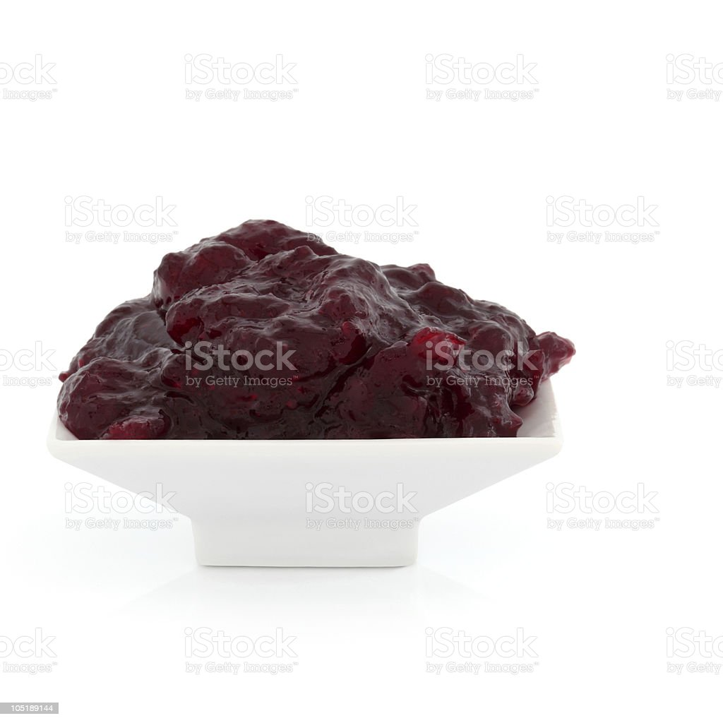 Cranberry Sauce stock photo