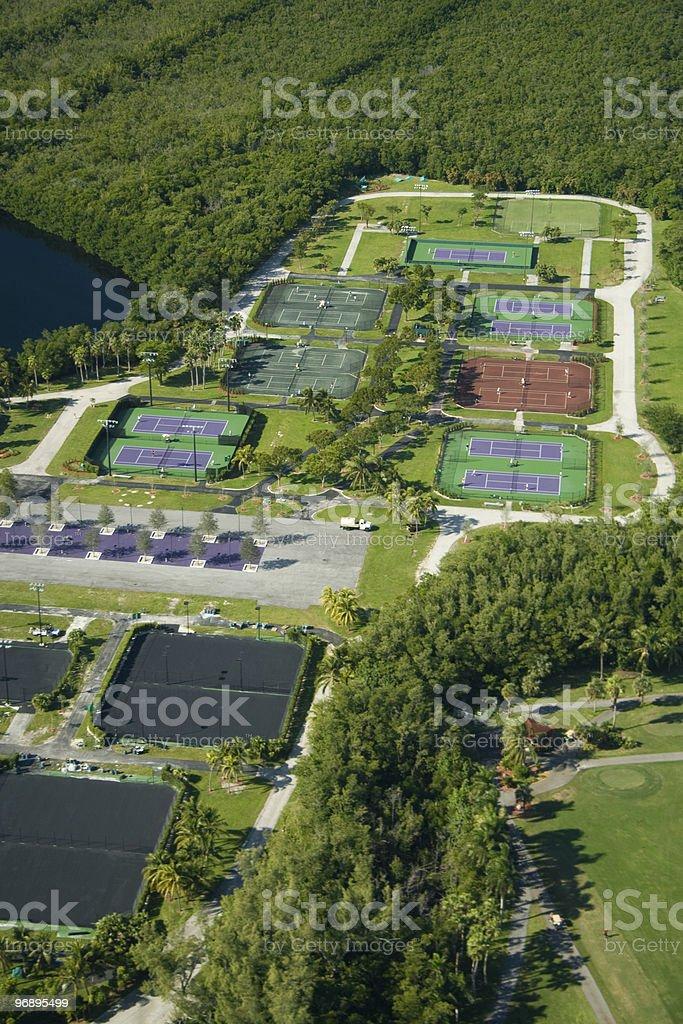 Crandon Park Tennis Center royalty-free stock photo