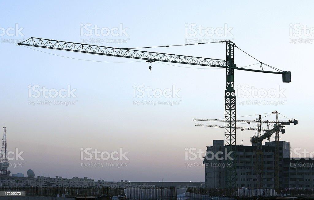 Crane 04 royalty-free stock photo