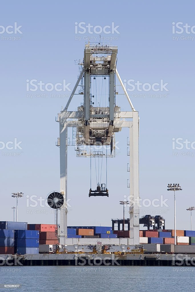 Crane 1 royalty-free stock photo