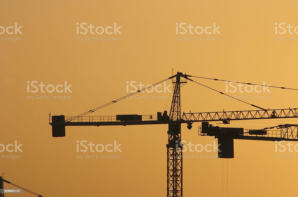 Crane 10 royalty-free stock photo