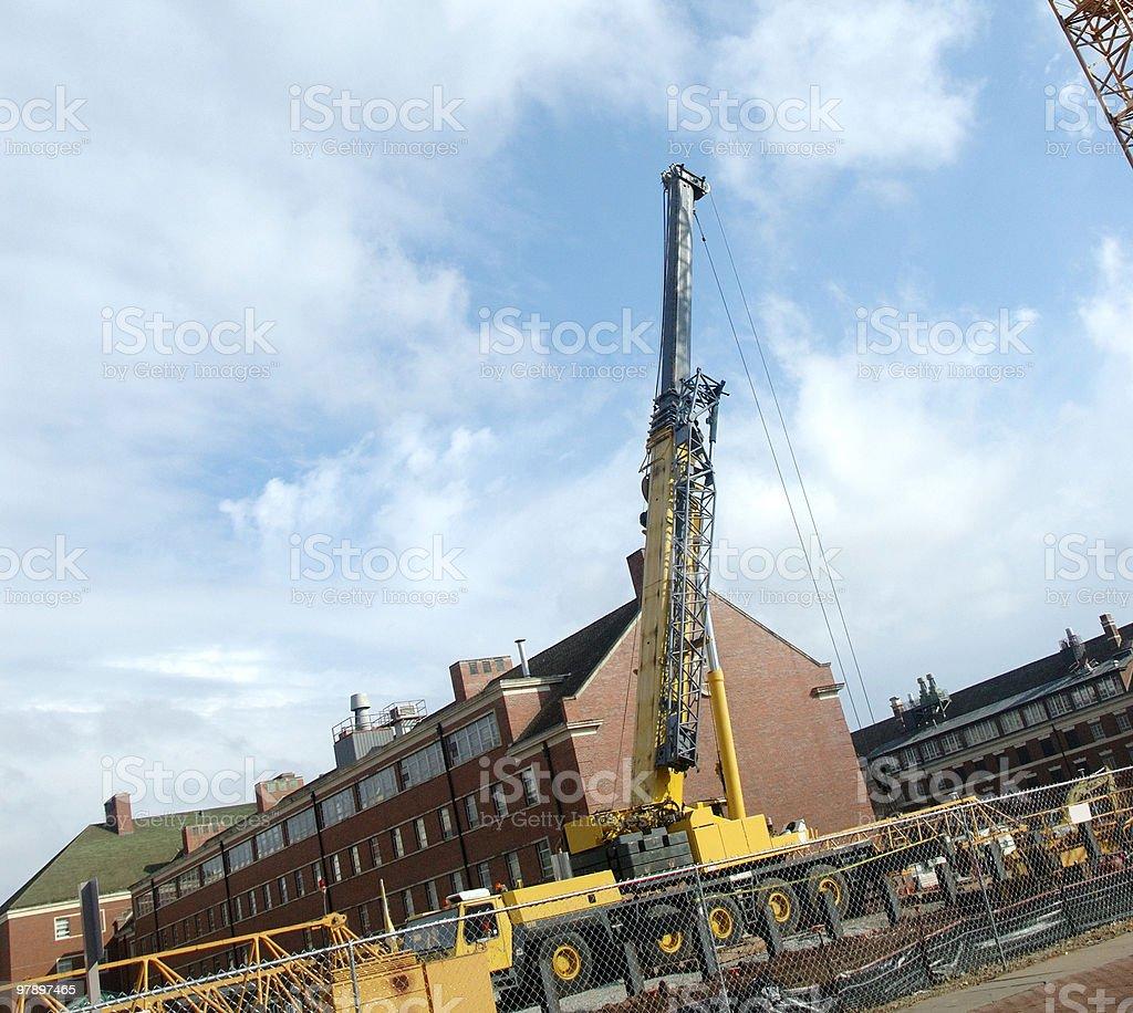 Crane 2 royalty-free stock photo