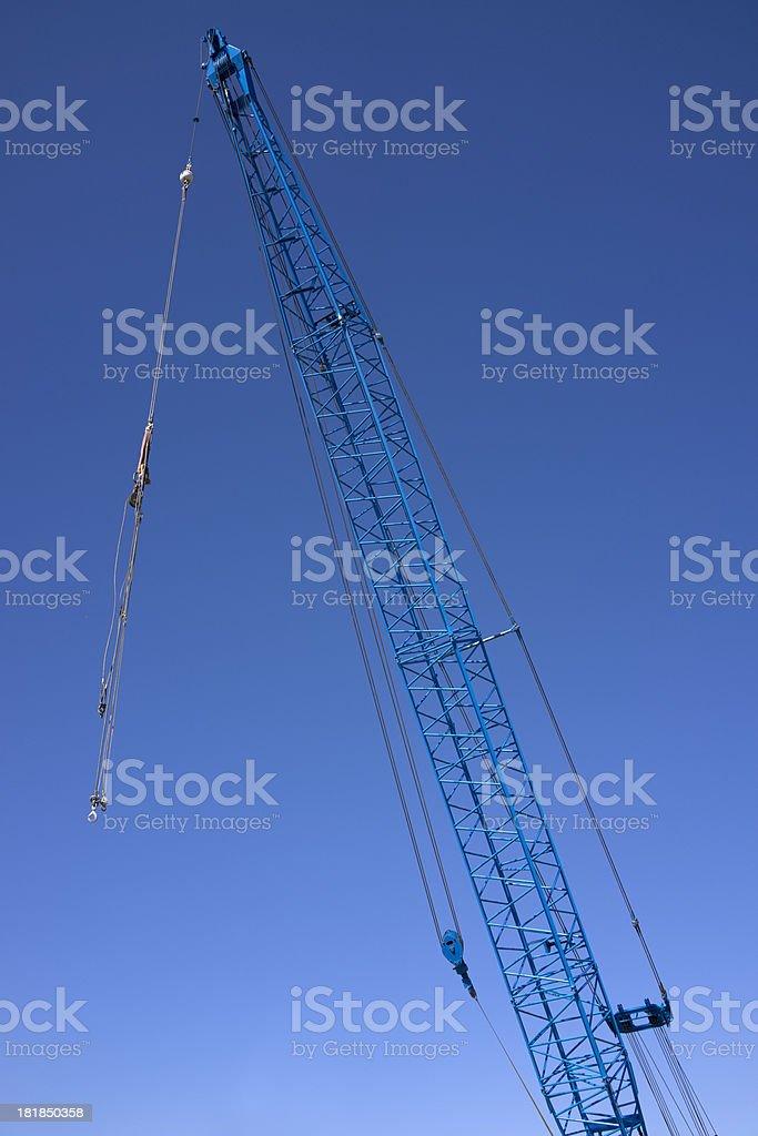 Crane and Sky royalty-free stock photo